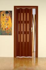 Двери Межкомнатные Красное дерево 15 с остеклением
