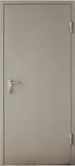 Двери Входные Одностворчатая глухая с торцевым коробом