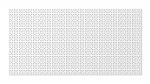 Стеновые панели Перфорированные Дамаско белый v546971
