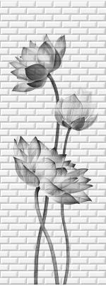 Стеновые панели ПВХ Таинственный сад 06630