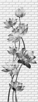 Стеновые панели ПВХ Таинственный сад 06640