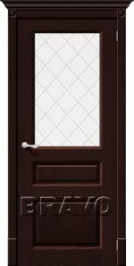 Двери Межкомнатные Леонардо Т-19 (Венге) ПО СТ-Полимер