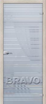Двери Межкомнатные СТ-1 Грация Сатинато Белое