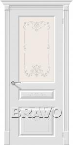 Двери Межкомнатные Скинни-15.1 Аrt Whitey ПО СТ-Худ