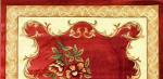 Ковры Merinos 0514А RED / CREAM ОВАЛ