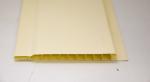 Стеновые панели Вагонка Пластиковая вагонка желтая