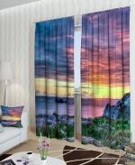 Товары для дома Домашний текстиль Сиреневый закат 900142