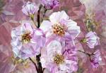Обои Komar XXL4-064 Blooming Gems