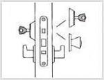 Двери Дверная фурнитура Замок врезной механический Abloy 4260
