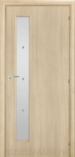 Двери Межкомнатные Saluto 201 F бежевый палисандр