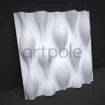 Стеновые панели 3D панели Drop M-0016