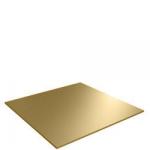 Строительные товары Подвесные потолки Кассета Албес АР 600 А6 Tegular золото/хром акустическая