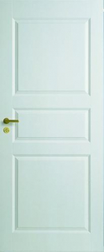 Двери Межкомнатные Дверь белая глухая №1