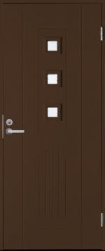 Двери Входные B0060 Темно-коричневая