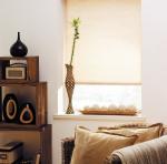 Товары для дома Домашний текстиль Миниролло Бежевый лен