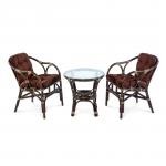 Мебель ЭкоДизайн Комплект кофейный Terrace Set Браун