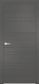 Двери Межкомнатные Дверное полотно Севилья 20 Софт графит