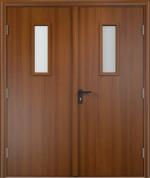 Двери Входные ДПО двустворчатое Финиш-пленка