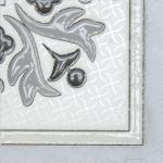 Керамическая плитка Lasselsberger Ceramics Угловой элемент напольный Бьянка Каррара 3610-0004