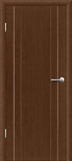 Двери Межкомнатные Гранд-М  глухая Темный орех, Миланский орех