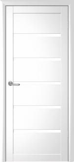 Двери Межкомнатные Вена белый глянец
