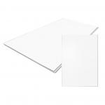 Стеновые панели ПВХ Панель белая матовая