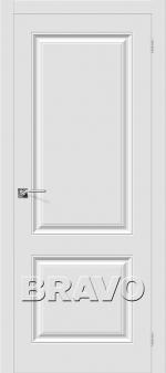 Двери Межкомнатные Скинни-12 П-23 (Белый)