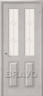 Двери Межкомнатные М15 Т-07 (Белый Воск) ПО СТ-Полимер