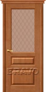 Двери Межкомнатные М5 Т-05 (Светлый Лак) ПО СТ-Кристалл