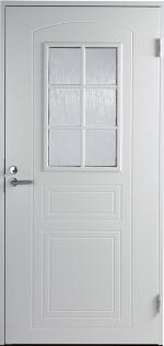 Двери Входные B0020 Белая