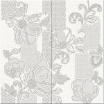 Керамическая плитка Azori Панно Illusio Gray Pattern