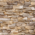 Стеновые панели ПВХ Этна бежевый