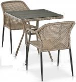 Мебель Садовая мебель Набор 2+1 T282BNT/Y35G-W1289 Pale 2Pcs