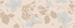 Керамическая плитка Kerama Marazzi Декор Вилланелла Цветы беж MLDB6715084