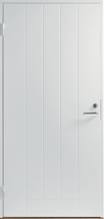 Двери Входные B0010 Белая