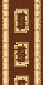 Ковролин Ковровые дорожки Da Vinci 5263 BROWN