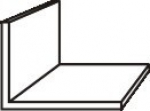 Плинтус Идеал Профиль угловой А17