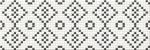 Керамическая плитка Mei Декор black&white mosaic O-PRP-WIU441-16