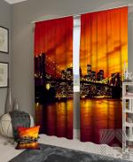 Товары для дома Домашний текстиль Закат в Манхеттене 900023