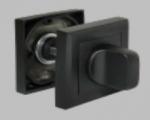 Двери Дверная фурнитура Сантехническая завертка MH-WC-S BL черная
