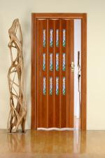 Двери Межкомнатные Вишня 19 с остеклением