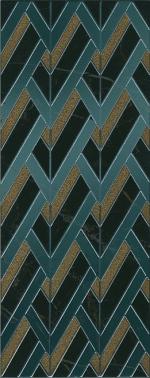 Керамическая плитка Kerama Marazzi Декор настенный Алькала черный MLD\B97\7200