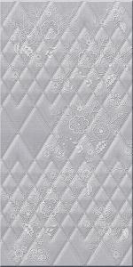Керамическая плитка Azori Плитка настенная Illusio Gray