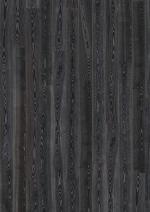 Паркетная доска Kahrs Ясень черное серебро 1-полосный