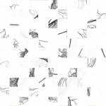 Керамическая плитка Meissen Декор Elegance белый мозаичный EG2O051