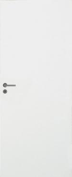 Двери Межкомнатные Дверь белая гладкая № 201