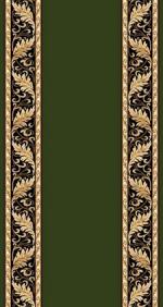 Ковролин Ковровые дорожки Da Vinci d040 GREEN