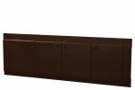 Мебель Мебель для ванной Экран под ванную 17 (с рисунком) венге темный