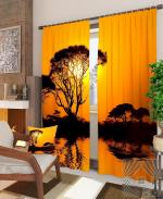 Товары для дома Домашний текстиль Закат в саванне 900332