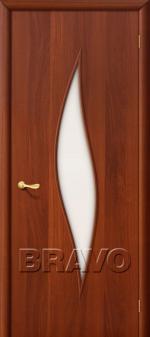 Двери Межкомнатные 12С Л-11 (Итальянский Орех) ПО СТ-Матовое